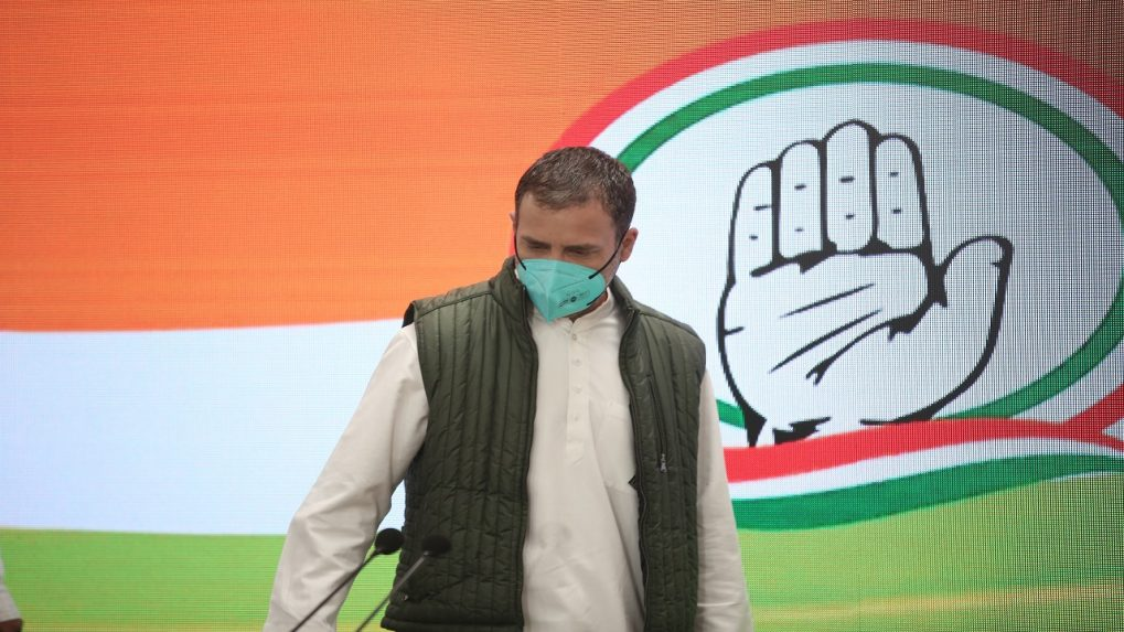 Govt fighting for blue tick, be self-reliant for vaccine: Rahul Gandhi
