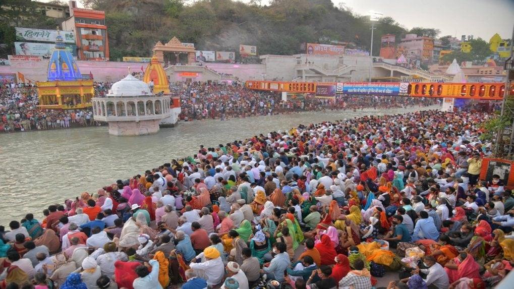 91 lakh pilgrims visited Haridwar for Mahakumbh; 60 lakh in April alone amid rising COVID-19 cases