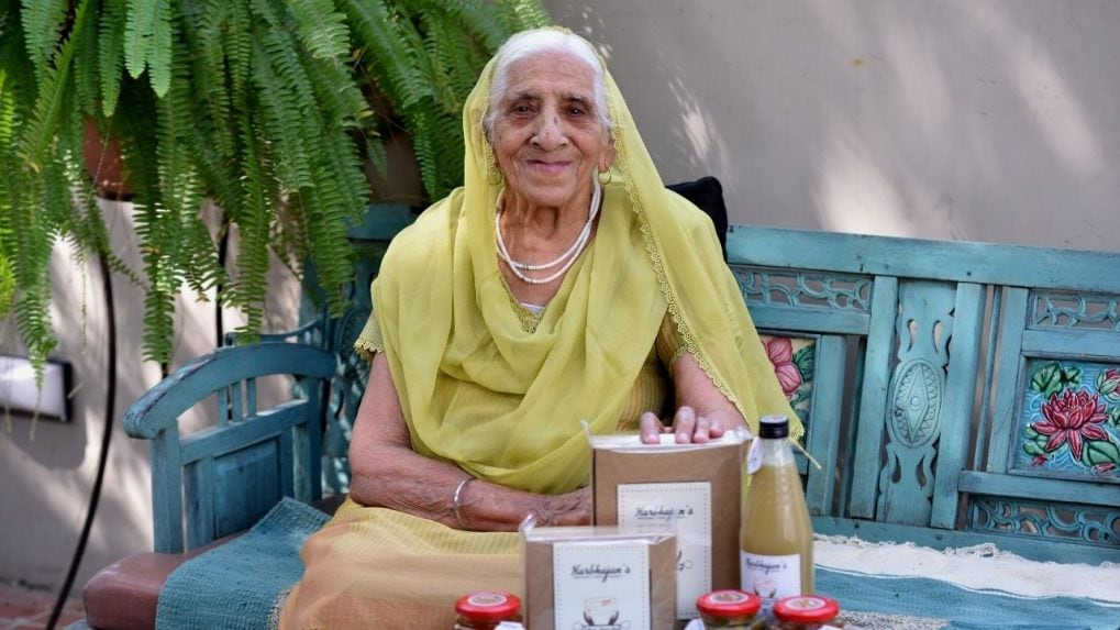 Food for thought? 94-year old builds a thriving business after late start in life