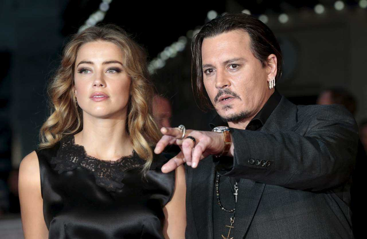Johnny Depp was at the height of his career when he married Hollywood sweetheart Amber Heard in 2015. However, Heard filed for divorce in 2016, just 15 months into the marriage over alleged domestic abuse charges. (Image: Reuters)