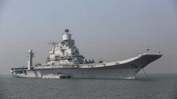 Fire on board INS Vikramaditya; all personnel safe: Navy