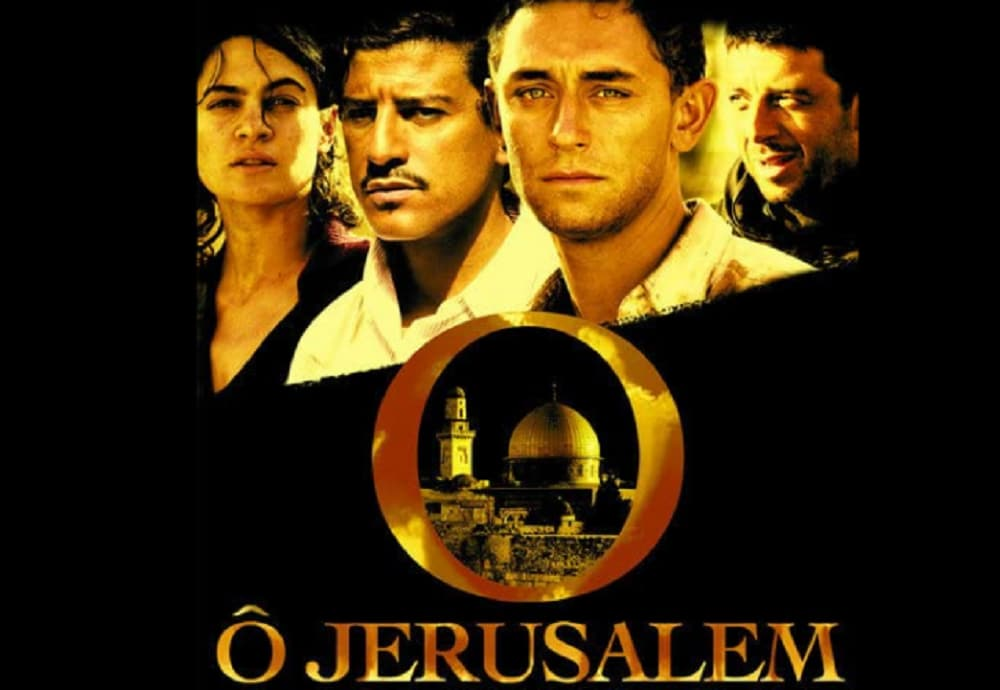 O Jerusalem:  Based on its namesake book written by Dominique Lapierre and Larry Collins, the film, like the book, deals with the events and mishaps surrounding the creation of Israel, and the subsequent mass expulsion of Palestinians. (Image: imdb.com)