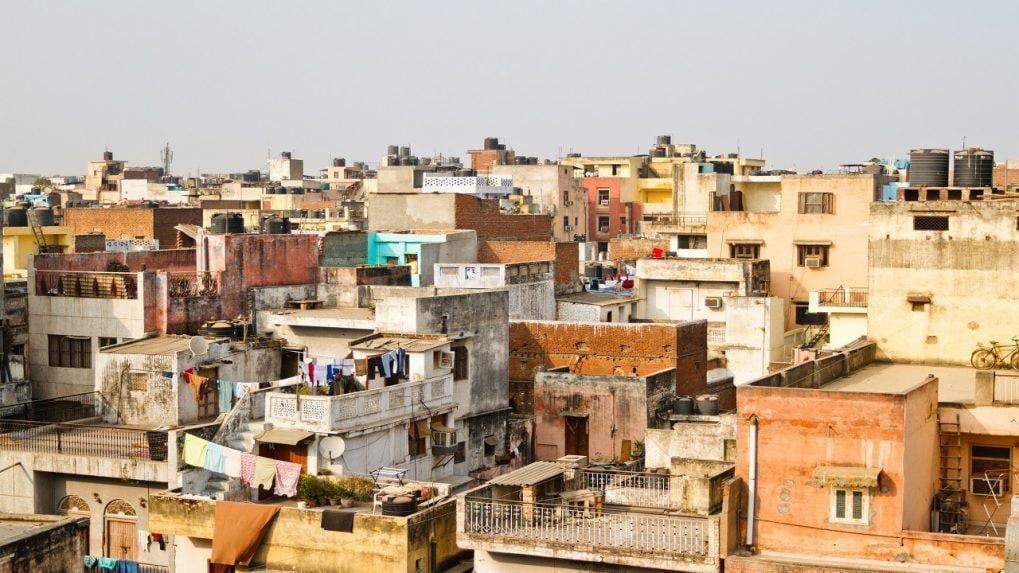 Urban regeneration of old buildings in draft Delhi Master Plan 2041