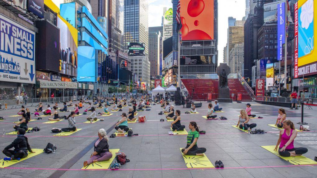 International Yoga Day Latest Updates: India Inc focuses on balanced life, encourages practice of yoga