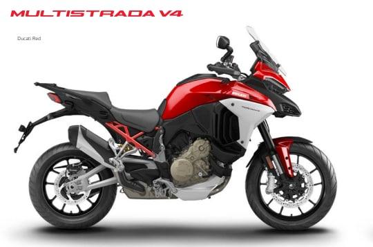 Ducati opens bookings for Multistrada V4  in India
