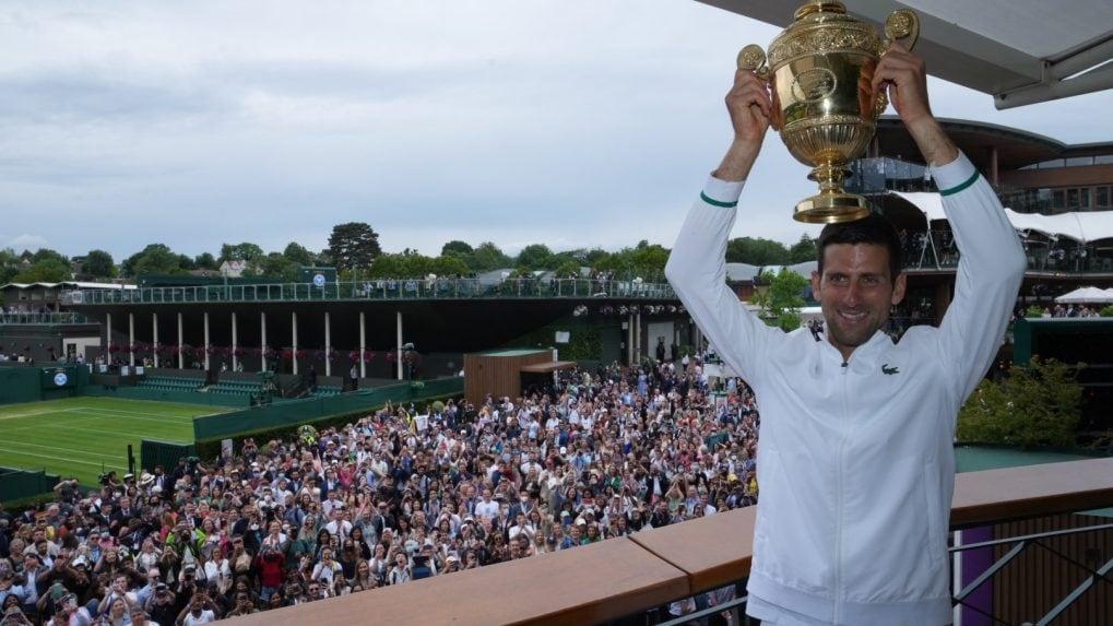 Novak Djokovic wins Wimbledon to tie Roger Federer, Rafael Nadal with 20 Slams