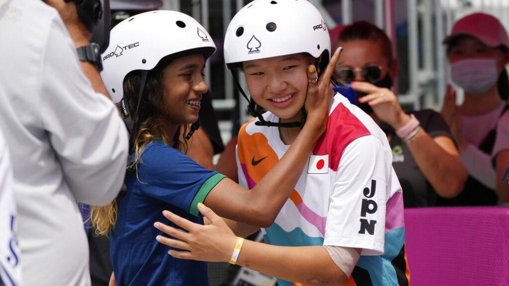 Tokyo Olympics: Japan's 13-year-old Nishiya wins skateboarding gold