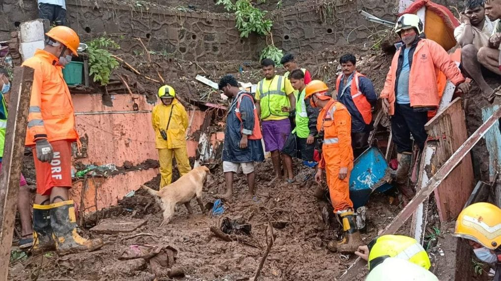 25 dead in house collapses as heavy rains pummel Mumbai; local train services suspended