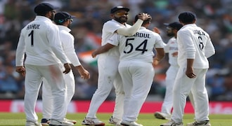 India beat England in Oval Test to lead series 2-1