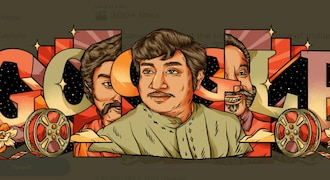 Google Doodle pays tribute to Sivaji Ganesan on 93rd birth anniversary with special graphic